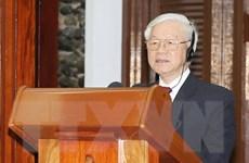 Tổng Bí thư: Viết tiếp những trang mới của quan hệ Việt Nam-Cuba