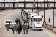 Syria: Nga đạt thỏa thuận sơ tán dân thường khỏi Douma
