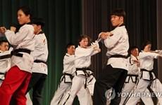 Hai miền Triều Tiên biểu diễn taekwondo chung lần đầu tại Bình Nhưỡng