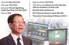 [Infographics] Con đường sự nghiệp của ông Phan Văn Vĩnh