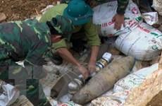 Hòa Bình phá hủy thành công 2 quả bom sót lại sau chiến tranh