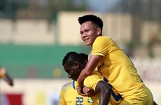 AFC Cup 2018: Sông Lam Nghệ An thắng Tampines Rovers với tỷ số 2-1