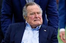 Cựu Tổng thống Mỹ Bush 'cha' nhập viện vì nhiễm trùng máu