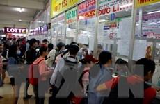 Thành phố Hồ Chí Minh: Lượng khách đi xe tăng đột biến dịp lễ 30/4