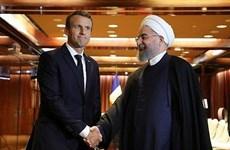Tổng thống Pháp, Iran nhất trí nỗ lực duy trì thỏa thuận hạt nhân