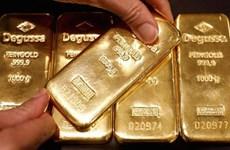 Giá vàng trên thị trường châu Á rơi xuống mức thấp nhất của 6 tuần