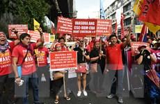 Philippines: Tuần hành lớn yêu cầu chính phủ sửa chính sách lao động