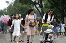 [Photo] Khách du lịch tăng đột biến trong bốn ngày nghỉ lễ