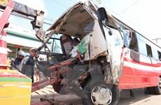 Vụ xe khách đâm xe tải ở Lâm Đồng: Xác định danh tính các nạn nhân