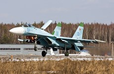 Báo Mỹ: Máy bay chiến đấu Su-27 là mối lo ngại của NATO