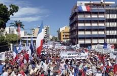 Tuần hành ủng hộ Pháp trước thềm bỏ phiếu về độc lập ở New Caledonia