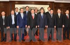 Chánh án Tòa án Nhân dân Tối cao Nguyễn Hòa Bình thăm Trung Quốc