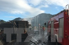 Gia Lai: Xe đầu kéo đâm nhau trên đèo khiến ba người chết cháy