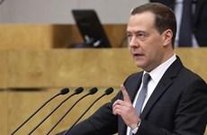Quốc hội Nga thông qua đề cử ông Medvedev giữ chức Thủ tướng