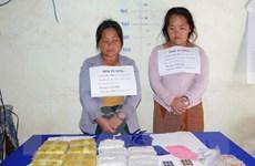 Bắt quả tang 2 đối tượng vận chuyển 34.000 viên ma túy tổng hợp