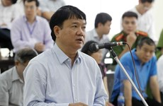 Xét xử vụ án PVC: Xét hỏi phần kháng cáo của bị cáo Đinh La Thăng