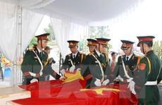 Quảng Trị truy điệu các hài cốt liệt sỹ Việt Nam hy sinh tại Lào