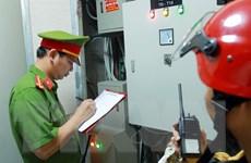 Kiểm tra đột xuất công tác phòng cháy chung cư ở Hải Phòng