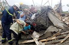 Nguyên nhân vụ sập sàn bêtông làm 4 người thương vong ở Đồng Nai