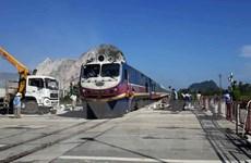 Tai nạn tàu hỏa ở Thanh Hóa: Đã thông tuyến đường sắt Bắc-Nam