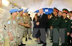 Toàn quyền Australia thăm Bệnh viện Dã chiến cấp 2 của Việt Nam