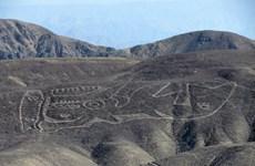 Phát hiện hơn 20 hình vẽ khổng lồ kỳ lạ trên sa mạc của Peru