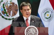 Tổng thống Paraguay Horacio Cartes đệ đơn từ chức lên Quốc hội