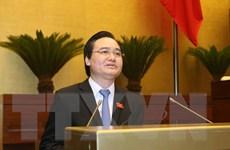 Bộ trưởng Phùng Xuân Nhạ giải thích về thuật ngữ giá dịch vụ đào tạo
