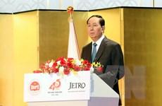 Chủ tịch nước phát biểu tại Hội nghị Xúc tiến đầu tư Việt Nam ở Nhật