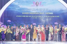 Hà Nội tổ chức tôn vinh các điển hình tiên tiến thi đua yêu nước
