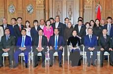 Chủ tịch nước gặp mặt cộng đồng người Việt Nam tại Nhật Bản