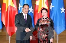 Phát triển tốt đẹp quan hệ song phương Việt Nam-Micronesia