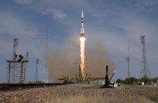 Nga phóng thành công tàu vũ trụ Soyuz-MS 09 lên trạm ISS