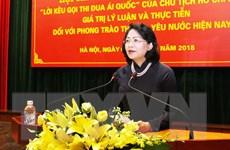 Hội thảo khoa học quốc gia về Lời kêu gọi thi đua ái quốc của Bác Hồ