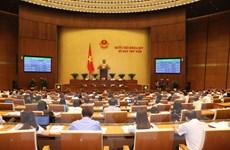 Quốc hội thông qua chương trình xây dựng luật, pháp lệnh năm 2019