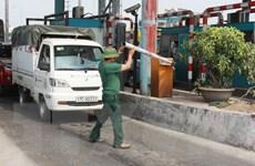 Lái xe tiếp tục không trả phí, phá barie Trạm thu phí cầu Tân Đệ