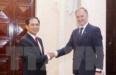 Thứ trưởng Ngoại giao Latvia tham vấn chính trị tại Việt Nam