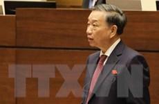 Bộ trưởng Tô Lâm làm việc với Bình Thuận về đảm bảo an ninh trật tự