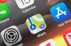 Ứng dụng bản đồ số Maps của Apple bị gặp sự cố sập mạng