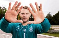 World Cup 2018 -Thủ quân tuyển Đức Manuel Neuer: Sức khỏe tôi là 120%