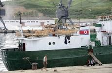 Chính quyền Hàn Quốc hồi hương cho 4 thủy thủ Triều Tiên