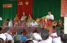 Thanh Hóa: Đối thoại về đền bù đất cho dân trong dự án Cảng Long Sơn