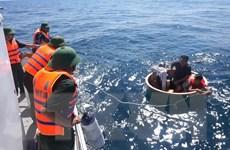 Cứu nạn thành công tàu cá cùng 14 thuyền viên bị nạn trên biển