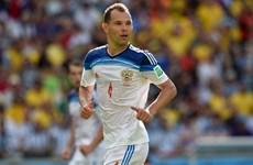Trung vệ kỳ cựu của đội tuyển Nga tự tin trước trận gặp Tây Ban Nha