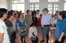 Phó Chủ tịch Quốc hội kiểm tra khắc phục hậu quả mưa lũ tại Lai Châu