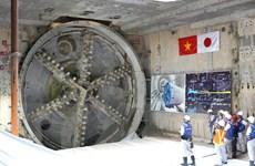 Đón máy khoan hầm thứ 2 tuyến metro Bến Thành-Suối Tiên