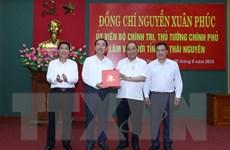 Hình ảnh Thủ tướng thăm và làm việc tại tỉnh Thái Nguyên
