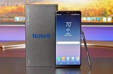Samsung giảm giá mạnh điện thoại Galaxy Note 8 để đón Note 9