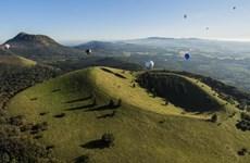 Dãy núi lửa Puys của Pháp được công nhận di sản thiên nhiên thế giới