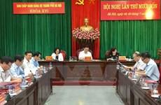 Bế mạc Hội nghị nghị lần thứ 14 BCH Đảng bộ thành phố Hà Nội